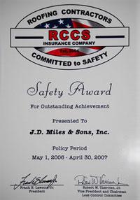 rcss award 2007