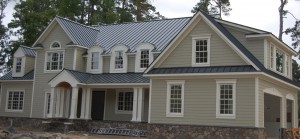 Residential Standing Seam Metal Panel Roof
